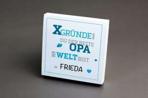 X-GRÜNDE warum du der Beste Opa der Welt bist