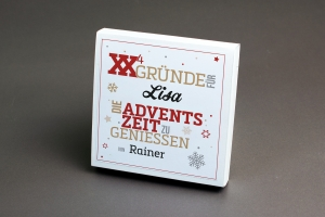 X-GRÜNDE - Adventsbox