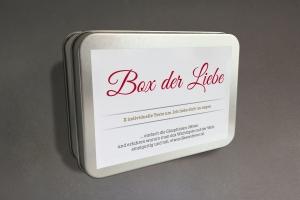 Liebes-Box mit X Phiolen